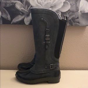 Fur Lined Snow or Rainboots Amazing Condition